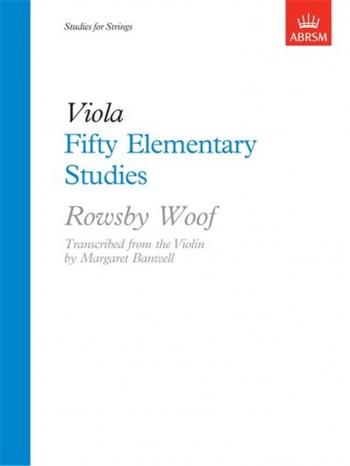 50 Elementary Studies: Viola