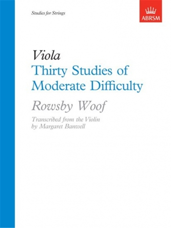 30 Studies Of Moderate Difficulty: Viola