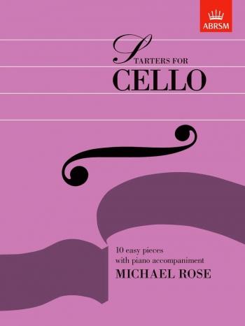 Starters For Cello: Cello & Piano (ABRSM)