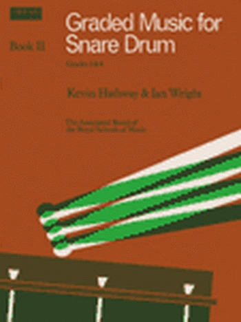 ABRSM: Graded Music For Snare Drum: Book 2: Grade 3&4