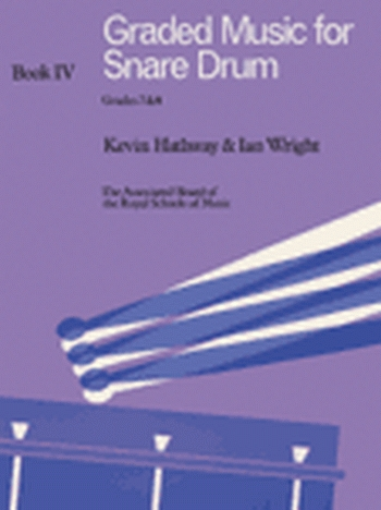 ABRSM: Graded Music For Snare Drum: Book 4: Grade 7&8