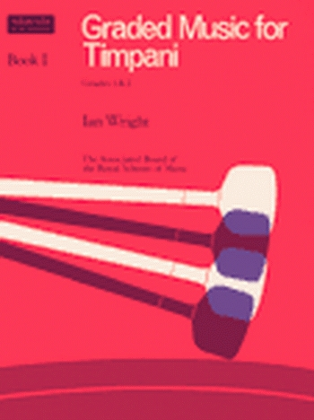 ABRSM: Graded Music For Timpani: Book 1: Grade 1&2