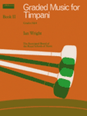 ABRSM: Graded Music For Timpani: Book 2: Grade 3&4