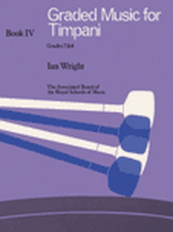 ABRSM: Graded Music For Timpani: Book 4: Grade 7&8