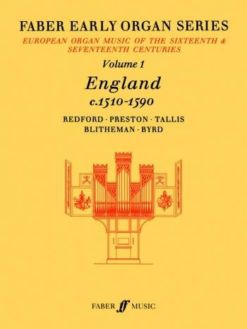 England 1510-1590: Organ: Album: 1: Faber Early Organ Series  (Archive Copy)