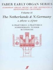 Netherlands: N Germany 1610-1700: Organ: 11: Faber Early Organ Series