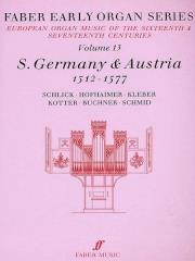 Germany: Austria 1512-1577: Organ: 13: Faber Early Organ Series