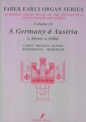 Germany: Austria 1600-1660: Organ: 14: Faber Early Organ Series
