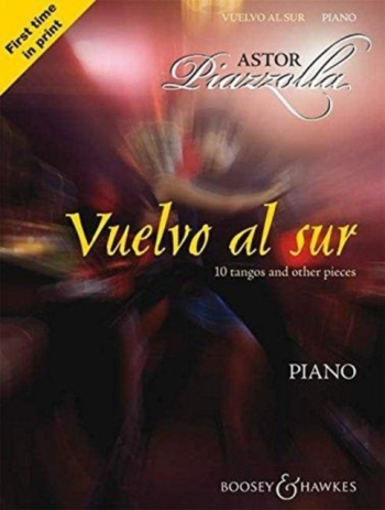 Piano: Vuelvo Al Sur: 10 Tangos and Other Pieces: Piano (B&H Ed)