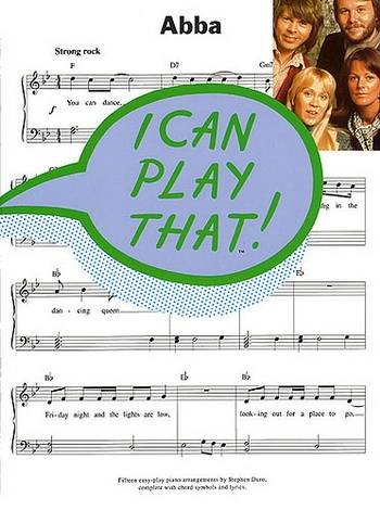 I Can Play That Abba: Easy