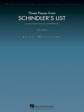 Schindlers List: Violin & Piano (williams)