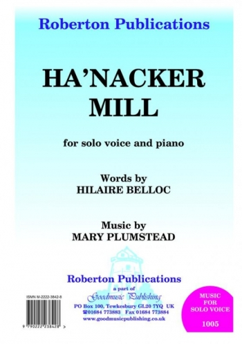 Hanacker Mill: Voice Solo With Accompaniment (Goodmusic)