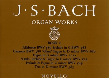Organ Works Book 2 (Novello)