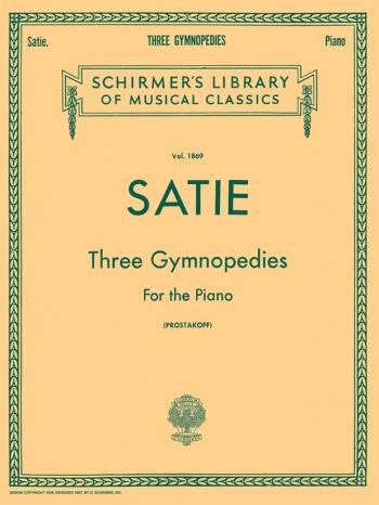 3 Gymnopedies: Piano (Schirmer)