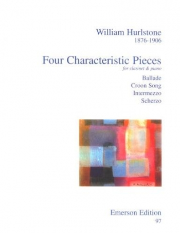 4 Characteristic Pieces: Clarinet & Piano (Emerson)