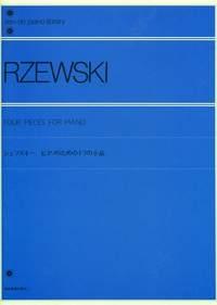 4 Piano Pieces Piano (Zimerman)