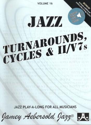 Aebersold Vol.16: Turnarounds and Cycles: All Instruments: Book & CD