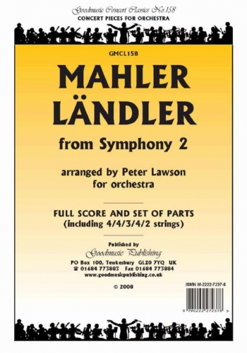 Orch: Mahler: Landler From Symphony No 2: Orchestra: Scandpts