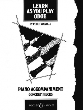 Learn As You Play Oboe: Piano Accompaniment (Wastall)