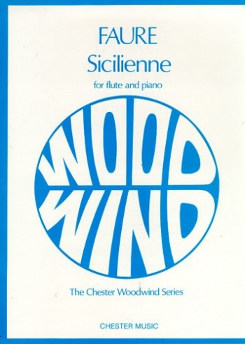 Sicilienne: Op78 : Flute & Piano (Chester)