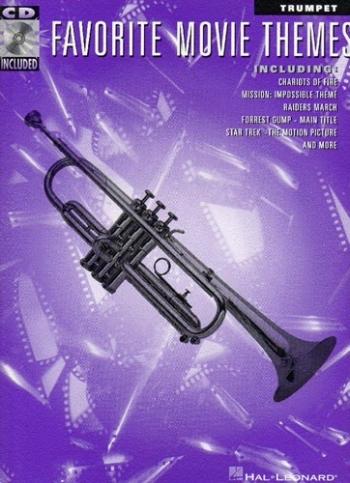 Favorite Movie Themes: Trumpet: Book & CD