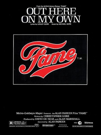 Out Here On My Own From Fame: Single