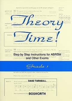 Theory Time Grade 1: Workbook (turnball)