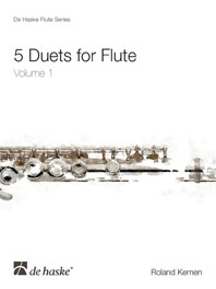 5 Duets For Flute: Vol 1: Easy: Intermediate