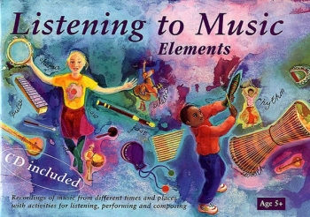 Listening To Music Elements 5+: Percussion Book & CD  (A & C Black)