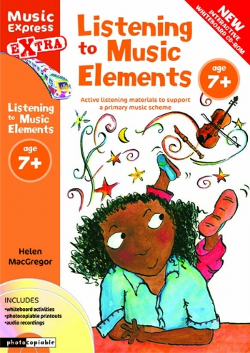 Listening To Music Elements 7+: Book And Cd  (A & C Black)