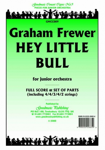 Orch/frewer/hey Little Bull/orchestra/scandpts