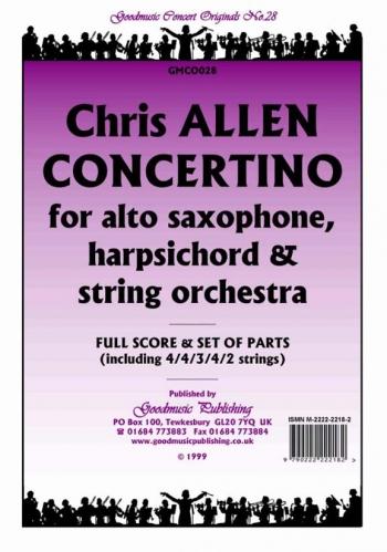 Orch/allen/concertino/orchestra/scandpts