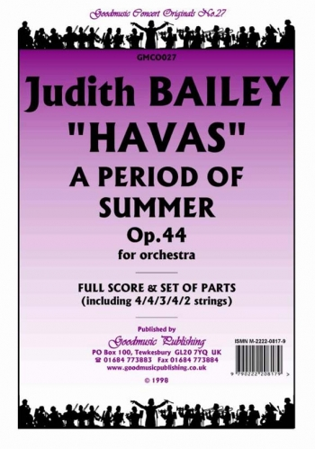 Orch/bailey/havas A Period Of Summer Op44/orchestra/scandpts