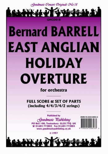 Orch/barrell/east Anglian Holiday Overture Op14/orchestra/scandpts