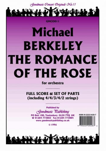 Orch/berkeley/romance Of The Rose The/orchestra/scandpts