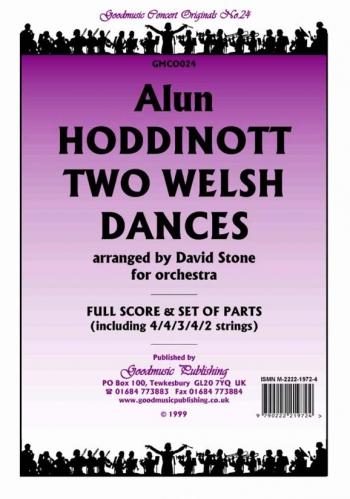 Orch/hoddinott/2 Welsh Dances/orchestra/scandpts