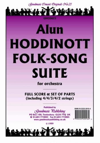 Orch/hoddinott/folk Song Suite/orchestra/scandpts