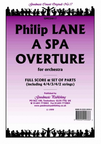 Orch/lane/spa Overture A/orchestra/scandpts