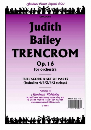 Orch/bailey/trencrom Op16/orchestra/scandpts