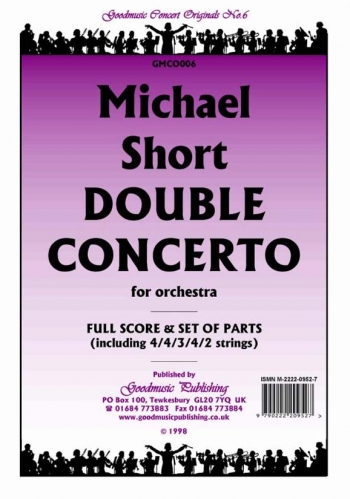 Orch/short/double Concerto/orchestra/scandpts