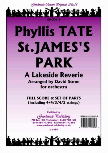 Orch/tate/st. James Park; A Lakeside Reverie/orchestra/scandpts