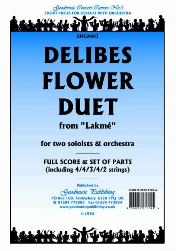 Orch/delibes/flower Duet From Lakme/orchestra/scandpts