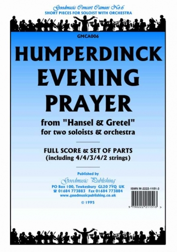 Orch/humperdinck/evening Prayer From Hansel and Gretel/orchestra/scandpts