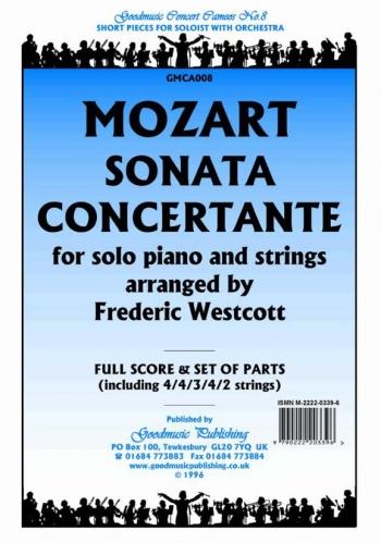 Orch/mozart/sonata Concertante/orchestra/scandpts