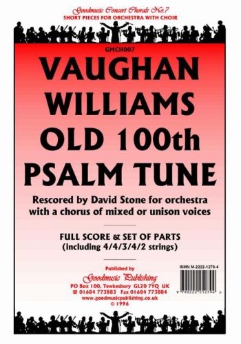 Orch/vaughan Williams/old 100th Psalm Tune The/orchestra/scandpts