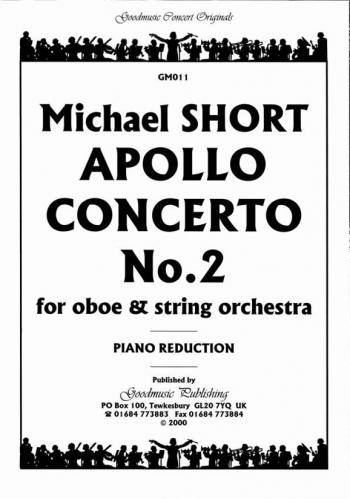 Orch/short/apollo Concerto No2/oboe Score/orch/oboe and Piano