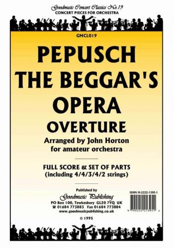 Orch/pepusch/beggas Opera Overture The/orchestra/scandpts