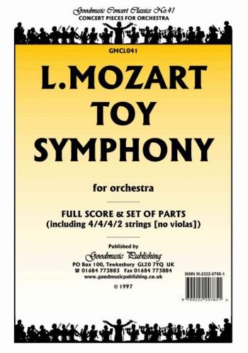 Orch/mozart/toy Symphony/orchestra/scandpts
