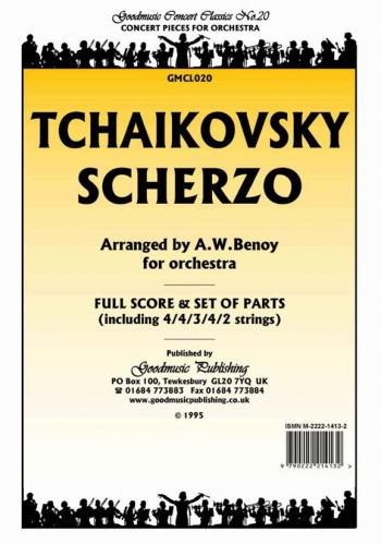 Orch/tchaikovsky/scherzo/orchestra/scandpts