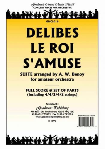 Orch/delibes/le Roi Samuse/orchestra/scandpts
